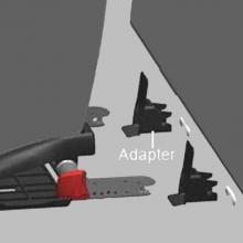 ISOFIX adapter