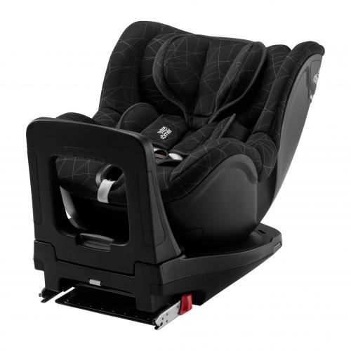 britax r mer dualfix i size isofix crystal black. Black Bedroom Furniture Sets. Home Design Ideas