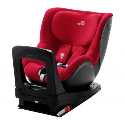 britax r mer dualfix m i size isofix fire red. Black Bedroom Furniture Sets. Home Design Ideas